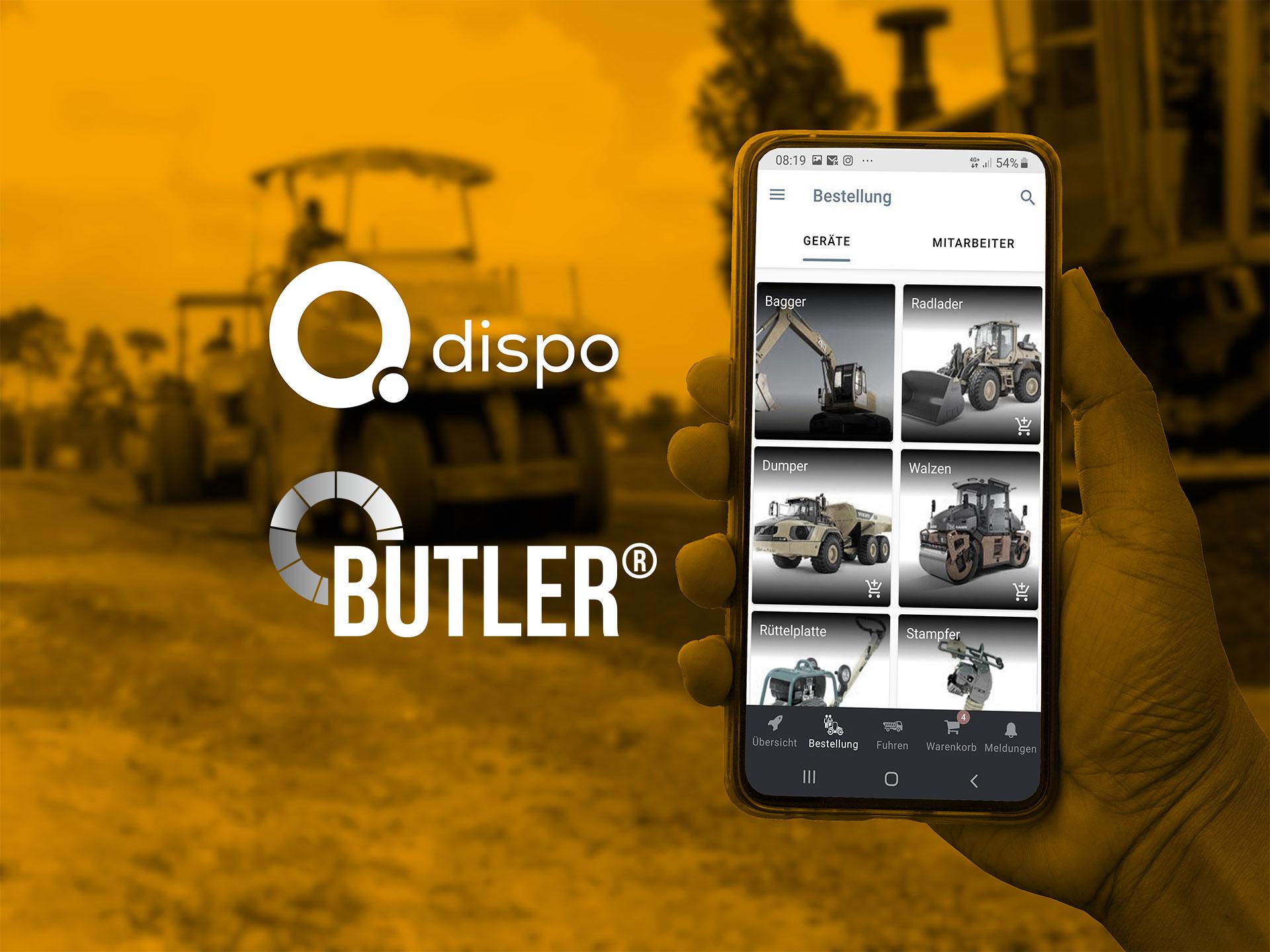Der Butler® und die Q Dispo sind vernetzt